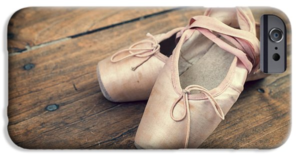 Ballet Dancers iPhone Cases - Ballerina iPhone Case by Delphimages Photo Creations
