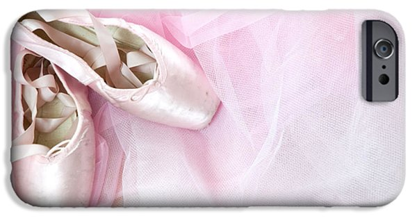 Recently Sold -  - Innocence iPhone Cases - Ballerina Dreams iPhone Case by Zina Zinchik