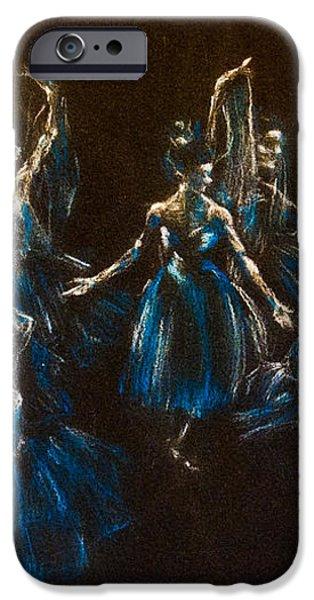 Ballerina Ghosts iPhone Case by Jani Freimann