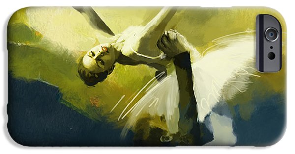 Dance iPhone Cases - Ballet Dancer iPhone Case by Corporate Art Task Force