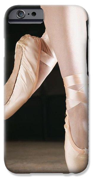 Ballet Dancer En Pointe iPhone Case by Don Hammond