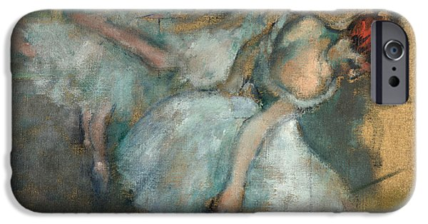 Ballet Dancers iPhone Cases - Ballet Dancers iPhone Case by Edgar Degas