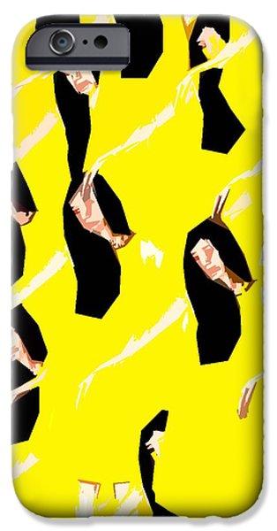 BALLET DANCERS iPhone Case by Patrick J Murphy