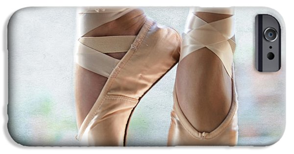 Daughter Gift iPhone Cases - Ballet En Pointe iPhone Case by Laura  Fasulo