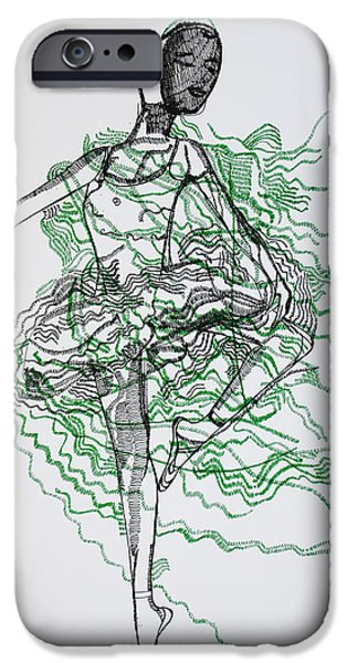 Ballet iPhone Case by Gloria Ssali