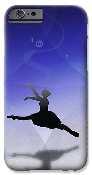 Ballet In Solitude  iPhone Case by Bedros Awak