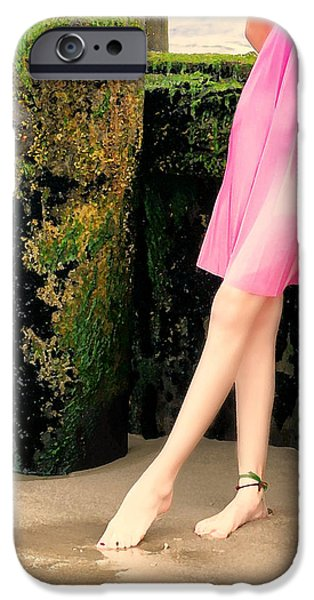 Ballet Dancers Photographs iPhone Cases - Ballet Point iPhone Case by Diana Angstadt