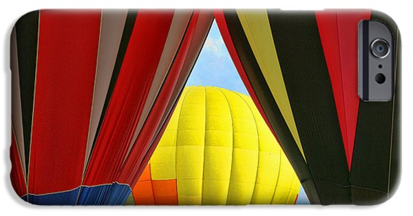 Freedom iPhone Cases - Balloon Fantasy 5 iPhone Case by Allen Beatty