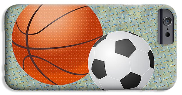 Multimedia iPhone Cases - Balls At Rest iPhone Case by Tina M Wenger