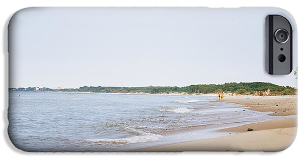 Exoticism iPhone Cases - Baltic Sea Wild Beach iPhone Case by Aleksey Tugolukov