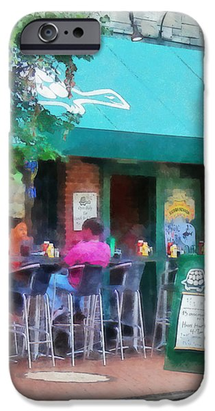 Baltimore - Happy Hour in Fells Point iPhone Case by Susan Savad