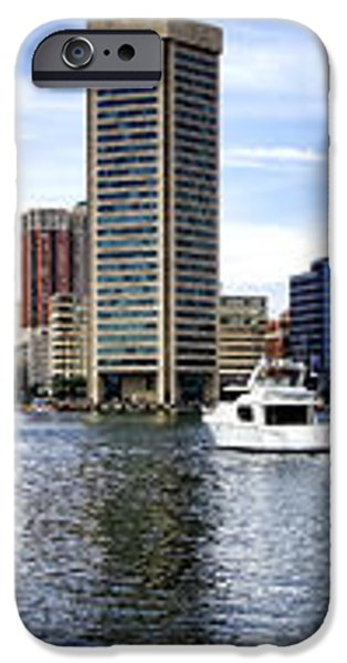 Baltimore Inner Harbor Marina - Generic iPhone Case by Olivier Le Queinec