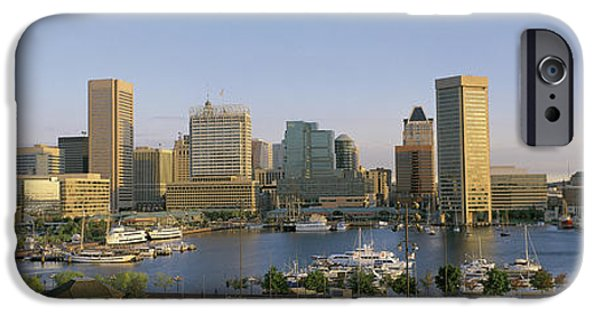 Locations iPhone Cases - Baltimore Md iPhone Case by Panoramic Images