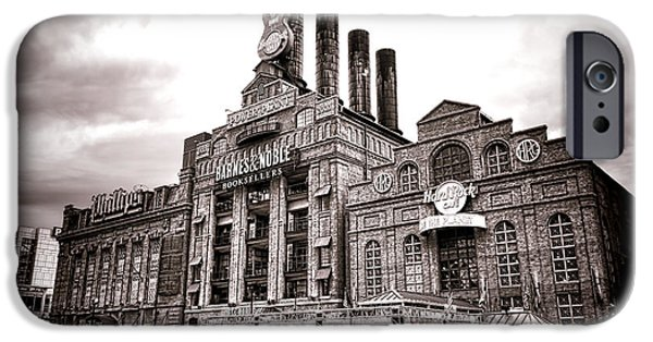 Baltimore iPhone Cases - Baltimore United Railways and Electric Company iPhone Case by Olivier Le Queinec