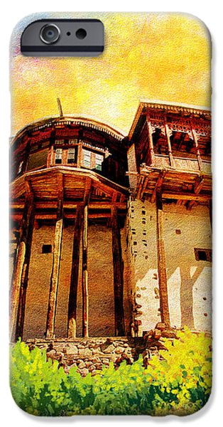 Baltit Fort iPhone Case by Catf