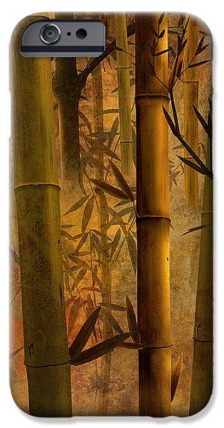 Bamboo Heaven iPhone Case by Bedros Awak