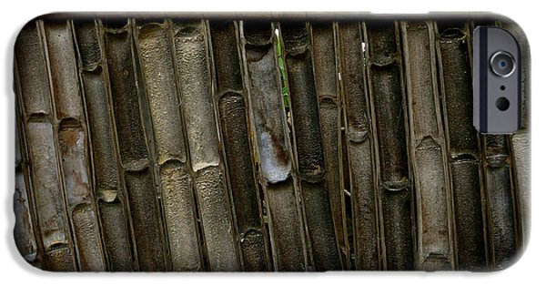 Best Sellers -  - Bamboo Fence iPhone Cases - Bamboo Underside Wall iPhone Case by Eye Browses