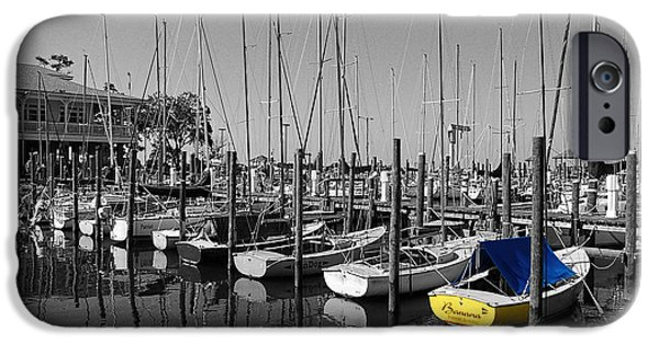 Michael Thomas iPhone Cases - Banana Boat iPhone Case by Michael Thomas
