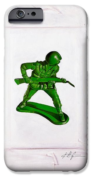 Bayonet iPhone Cases - Band of Brothers No.2 iPhone Case by Karl Melton