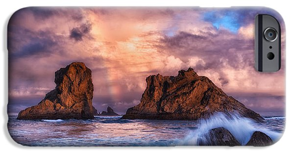 Storm iPhone Cases - Bandon Beauty iPhone Case by Darren  White