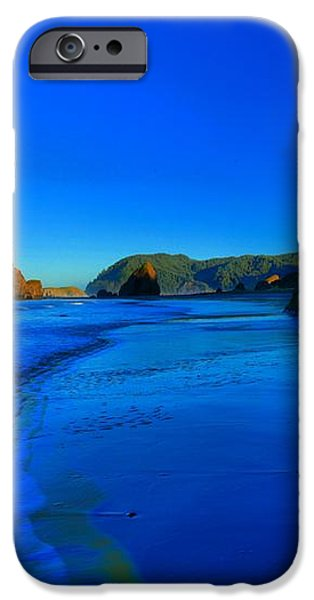 Bandon Blue And Gold iPhone Case by Adam Jewell