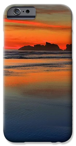 Bandon Foggy Fire iPhone Case by Adam Jewell