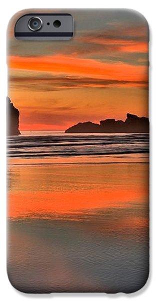 Bandon Orange Pastels iPhone Case by Adam Jewell