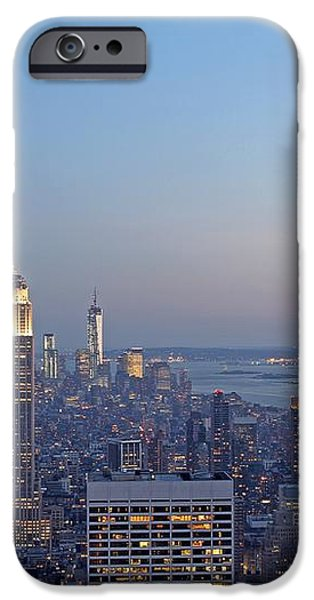 Bank of America and Empire State Building iPhone Case by Juergen Roth