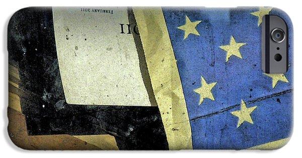 Overspending iPhone Cases - Bankrupt America iPhone Case by Joe Jake Pratt