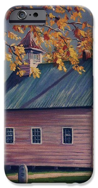 Baptist Church  Cades Cove iPhone Case by John Clark