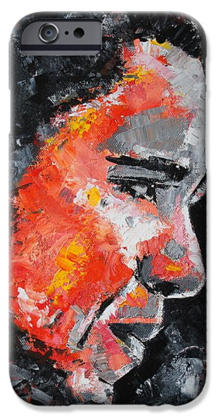 Barack Obama iPhone Cases - Barack Obama iPhone Case by Richard Day