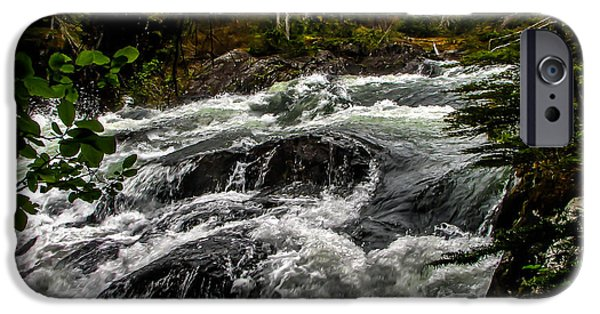 Chatham iPhone Cases - Baranof River iPhone Case by Robert Bales