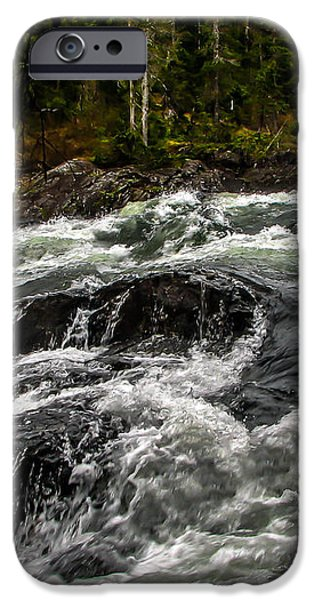 Baranof River iPhone Case by Robert Bales