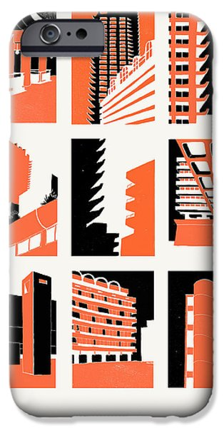 Structural iPhone Cases - Barbican iPhone Case by Eliza Southwood