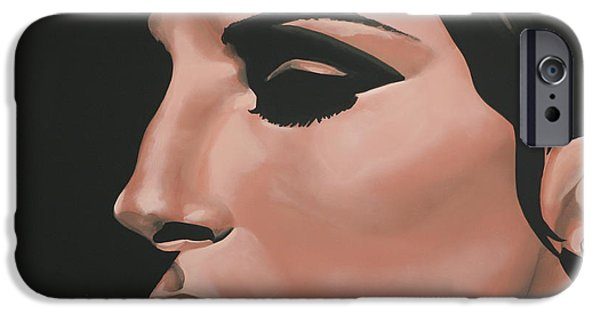 One iPhone Cases - Barbra Streisand iPhone Case by Paul  Meijering