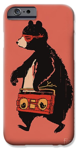 Hip-hop iPhone Cases - Bare necessity iPhone Case by Budi Satria Kwan