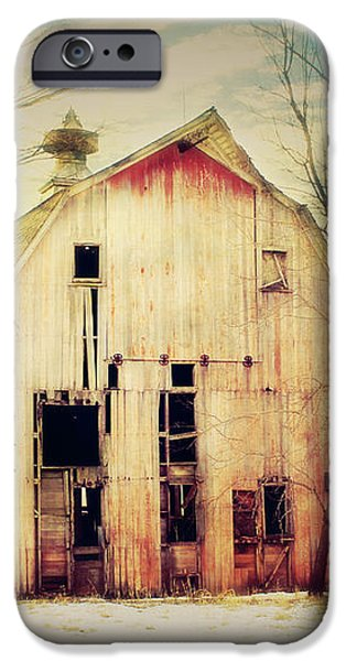 Barn and Silo iPhone Case by Julie Hamilton
