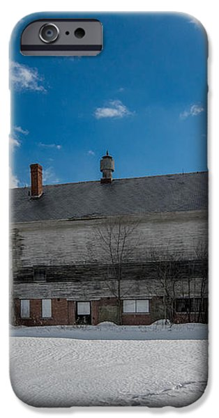 Barn at AMHI   7K00315 iPhone Case by Guy Whiteley