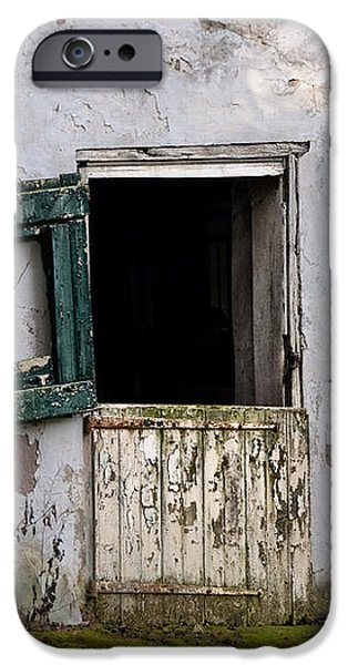 Barn Door in Need of Repair iPhone Case by Bill Cannon