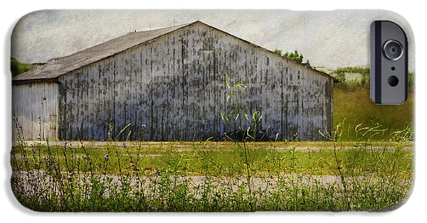 Field. Cloud iPhone Cases - Barn -  Finding A Iowa Gem -  Luther Fine Art iPhone Case by Luther  Fine Art