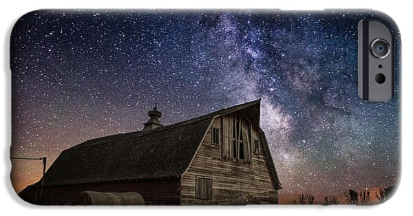 Barns Photographs iPhone Cases - Barn IV iPhone Case by Aaron J Groen