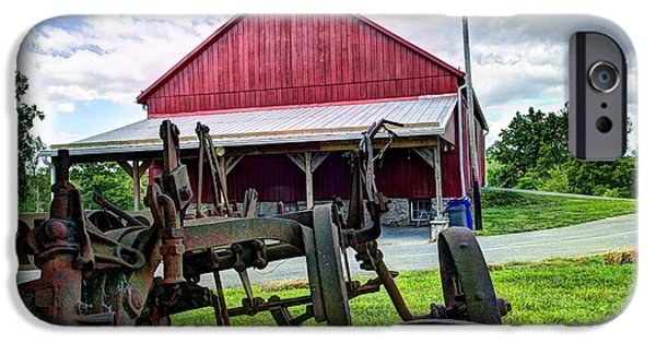 Barnstormer Photographs iPhone Cases - Barn iPhone Case by Jason Barr