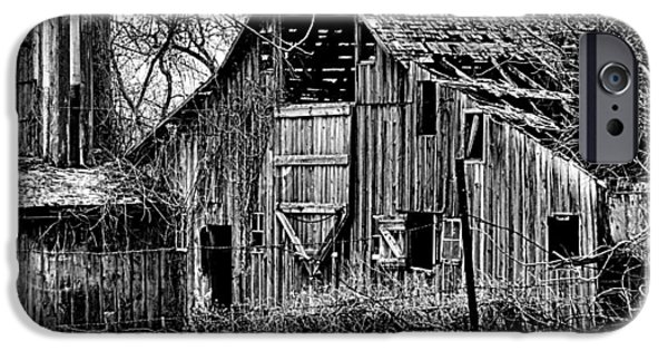 Old Barns iPhone Cases - Barn iPhone Case by Mike  Eischen
