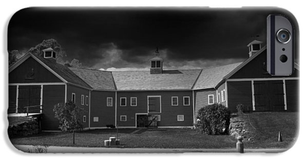 Weathervane Photographs iPhone Cases - Barn on the Farm iPhone Case by Mountain Dreams