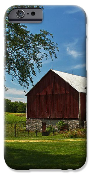 Barn Painter iPhone Case by Guy Shultz