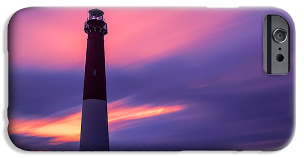 House iPhone Cases - Barnegat Sunset LE iPhone Case by Michael Ver Sprill