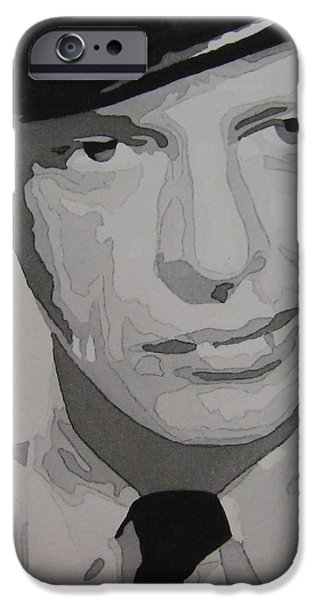 Barney Fife Contrast iPhone Case by Jules Wagner