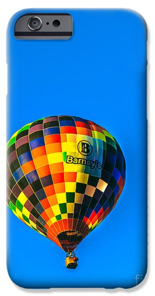 Arizonia iPhone Cases - Barneys Hot Air Balloon iPhone Case by Robert Bales