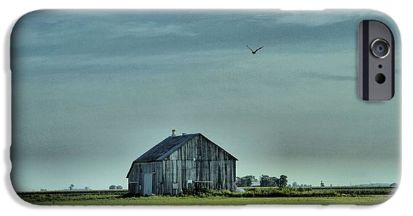 Old Barns iPhone Cases - The Flight Home iPhone Case by Dan Sproul