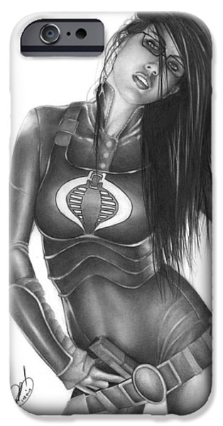 Baroness iPhone Case by Pete Tapang